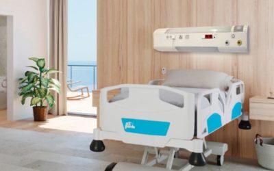 Tecnología en cabeceros hospitalarios inalámbricos